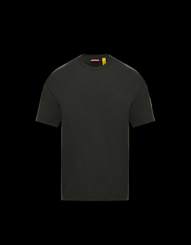 T-SHIRT Dark green New in Man