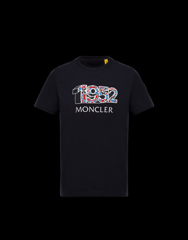 T-SHIRT Dark blue 2 Moncler 1952 Man