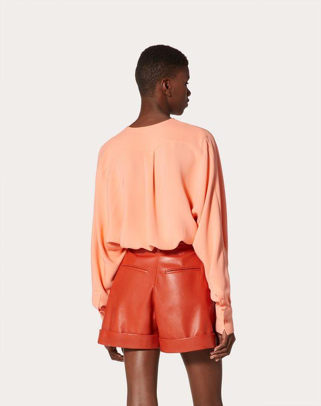 Top en cady couture