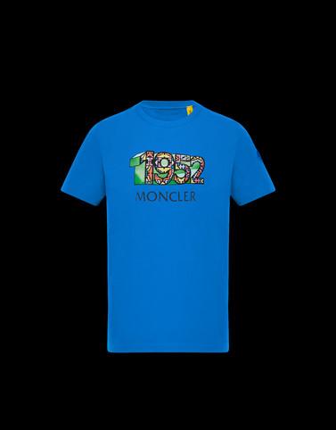 T-SHIRT Azure Polos & T-Shirts Man