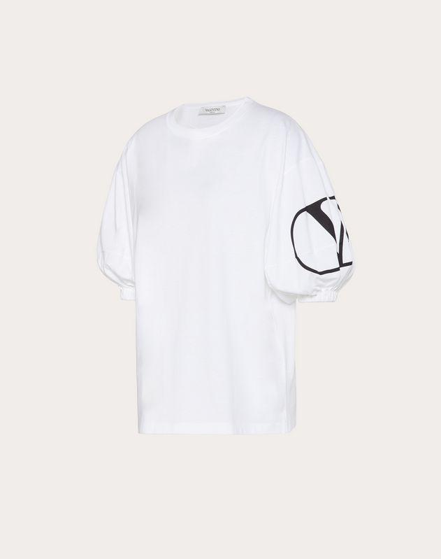 VLOGO 프린트 저지 티셔츠