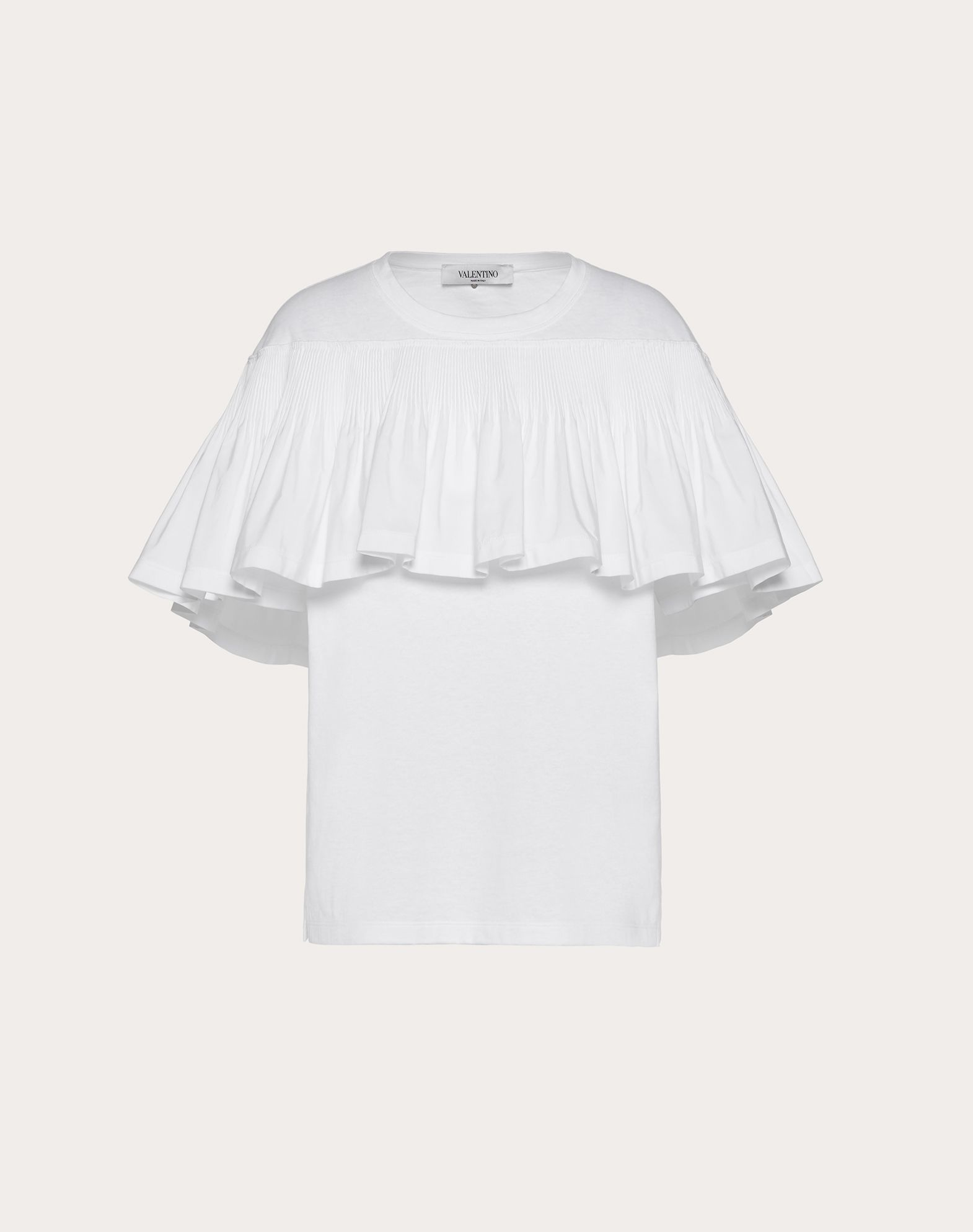 Jersey and Micro-Faille T-Shirt