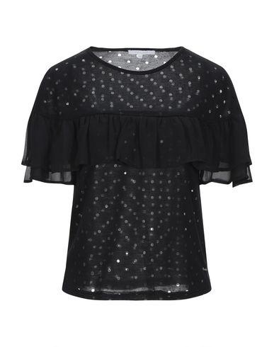 Фото - Женскую футболку KORALLINE черного цвета