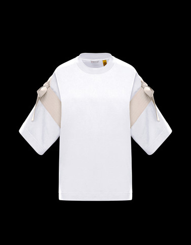 T-SHIRT White 2 Moncler 1952 Woman