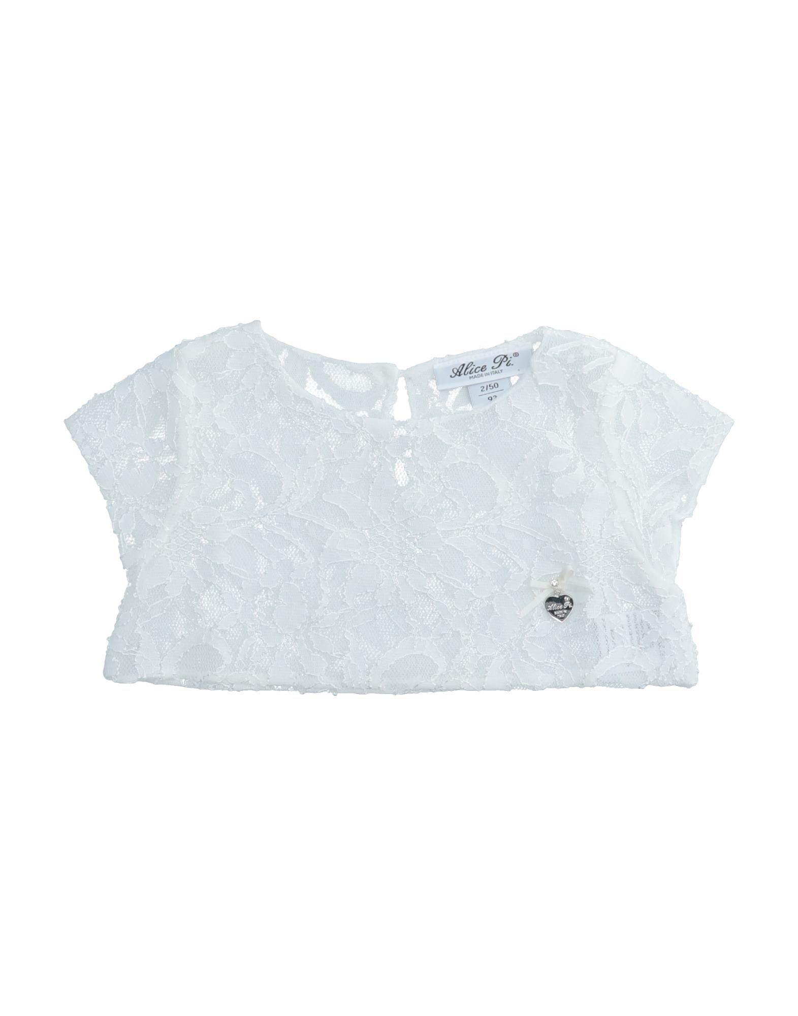 Alice Pi. Kids' T-shirts In White