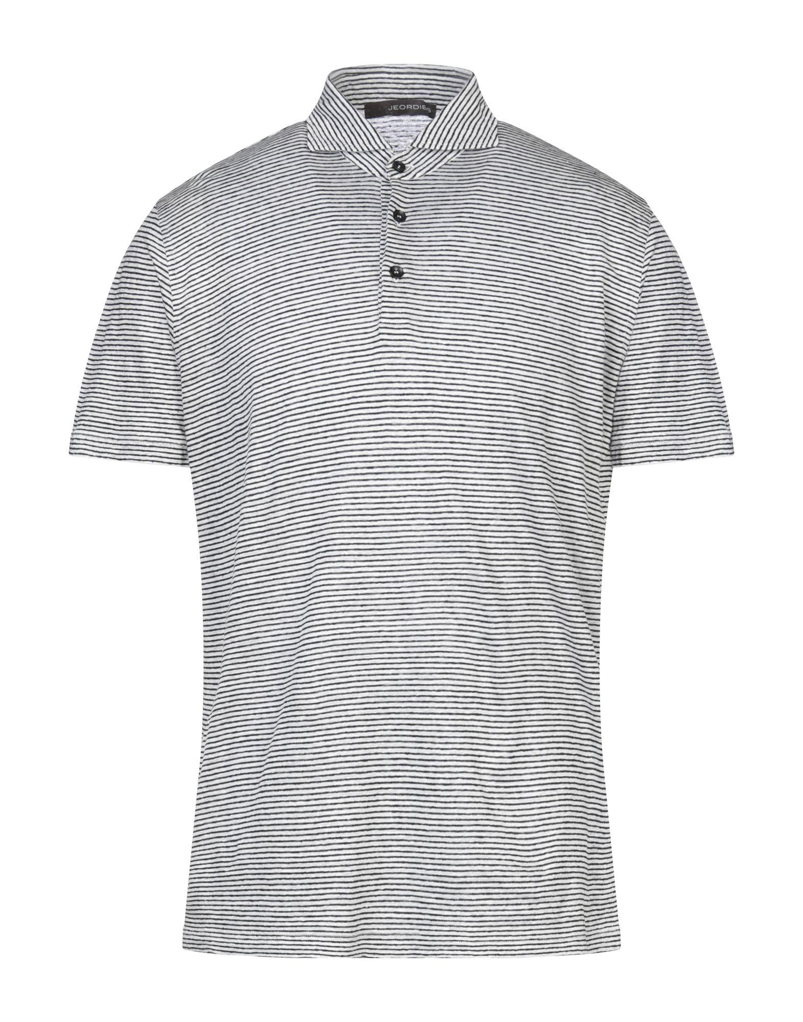 《セール開催中》JEORDIE'S メンズ ポロシャツ ブラック S リネン 100%