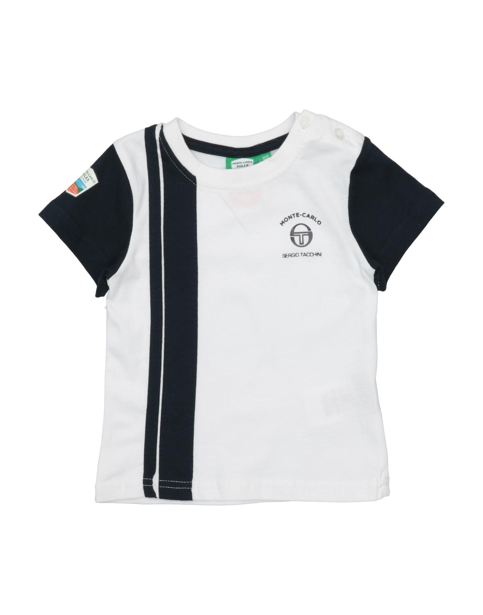 Sergio Tacchini Kids' T-shirts In White