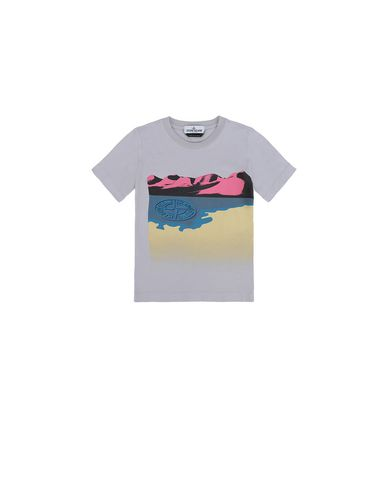 STONE ISLAND KIDS 21055  Short sleeve t-shirt Man Lavender USD 61