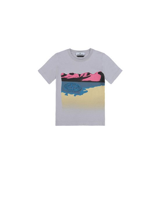 Short sleeve t-shirt Man 21055  Front STONE ISLAND KIDS