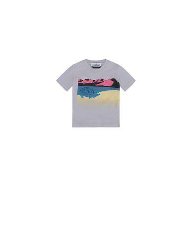 STONE ISLAND BABY 21055  Short sleeve t-shirt Man Lavender EUR 48