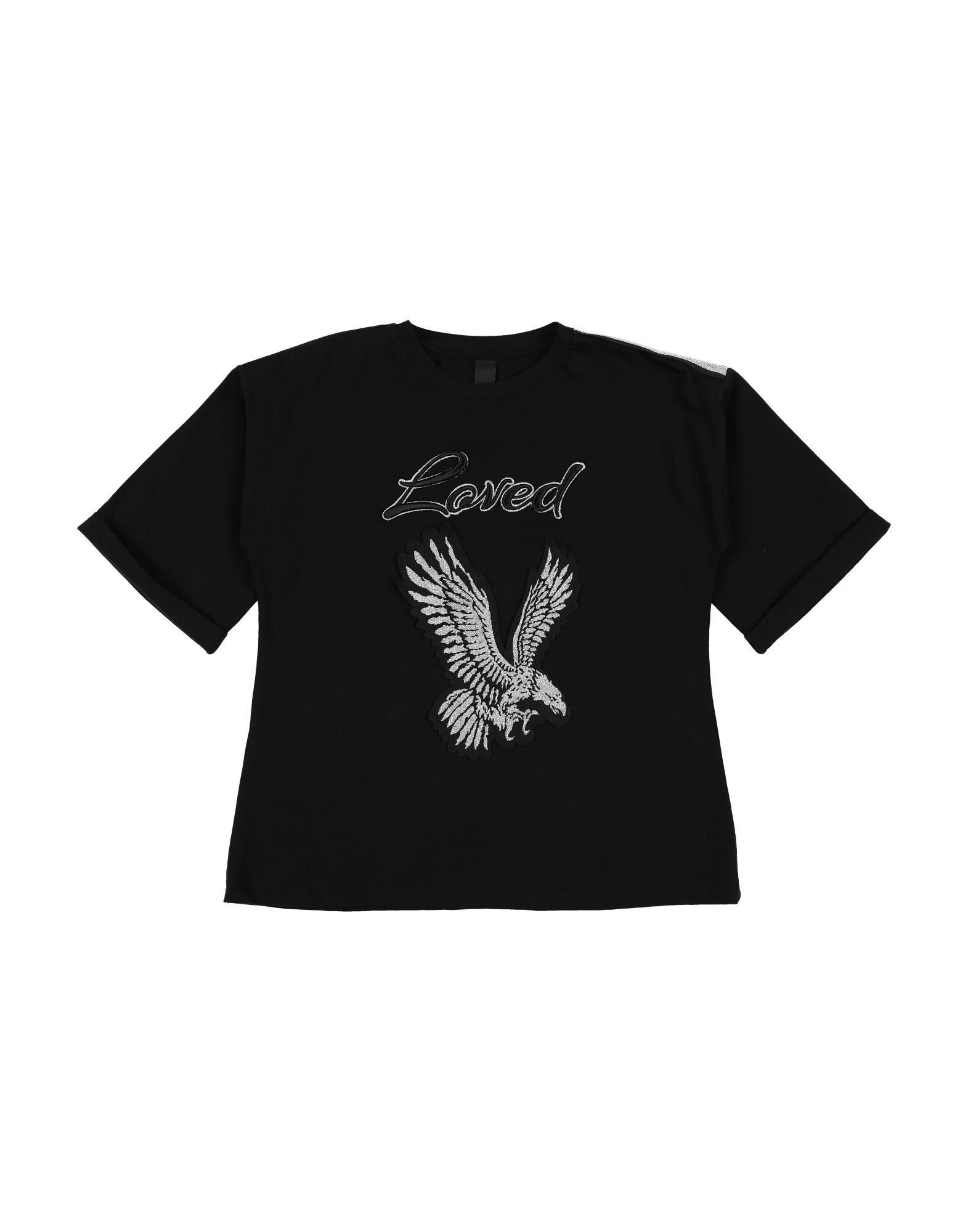 Naïce Kids' T-shirts In Black