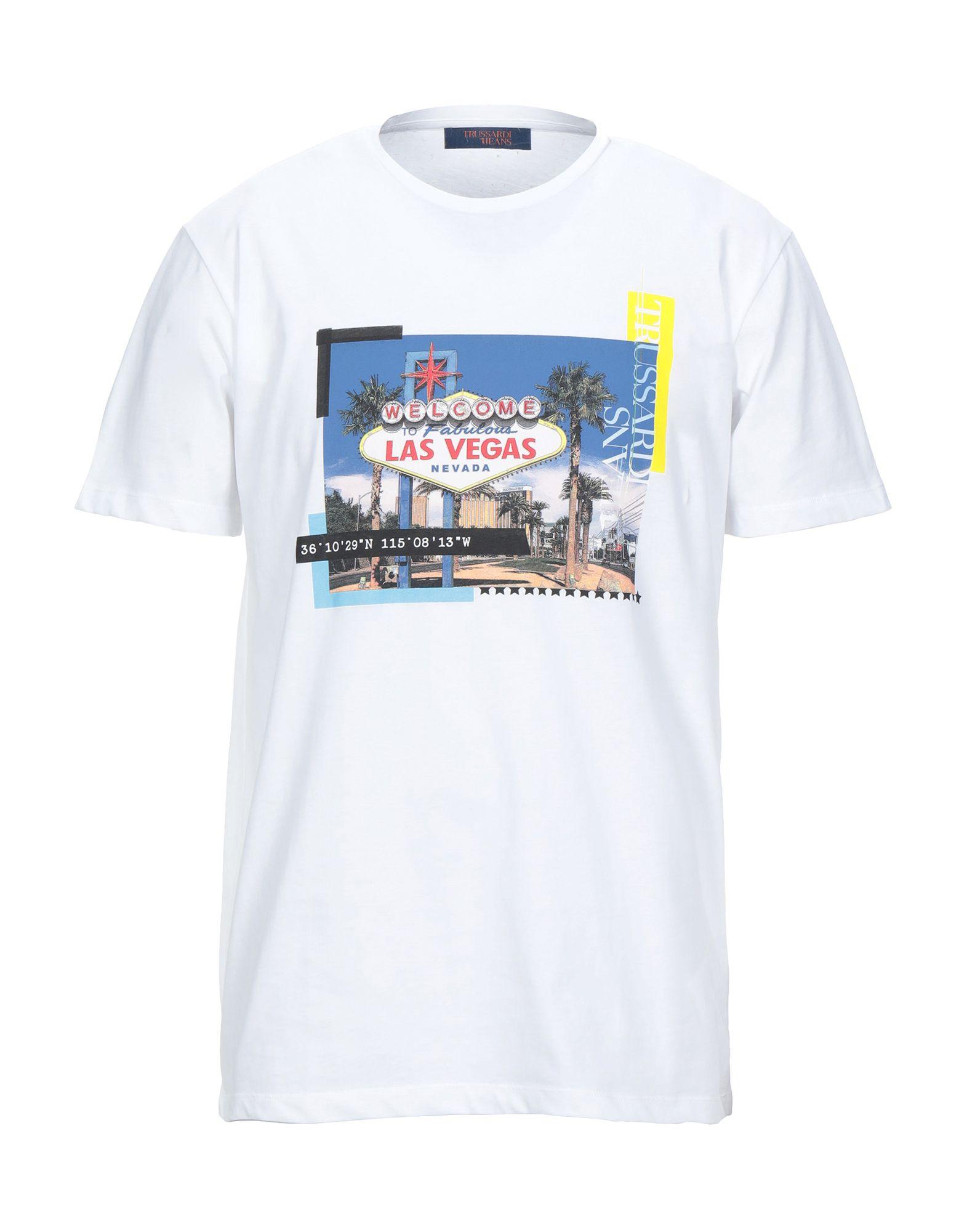TRUSSARDI JEANS Футболка футболка trussardi collection trussardi collection tr031emfalz0