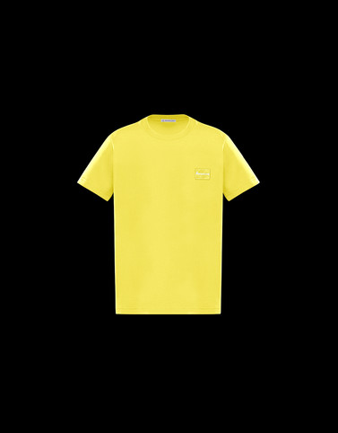 T-SHIRT Yellow Kids 4-6 Years - Boy Man