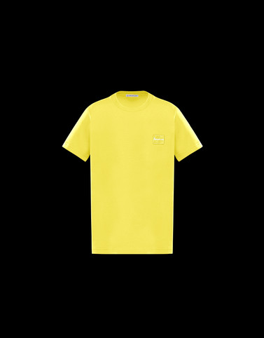T-SHIRT Yellow Junior 8-10 Years - Boy Man