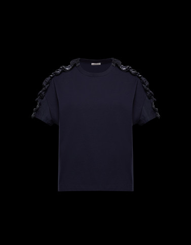 T-SHIRT Dark blue T-Shirts & Tops Damen