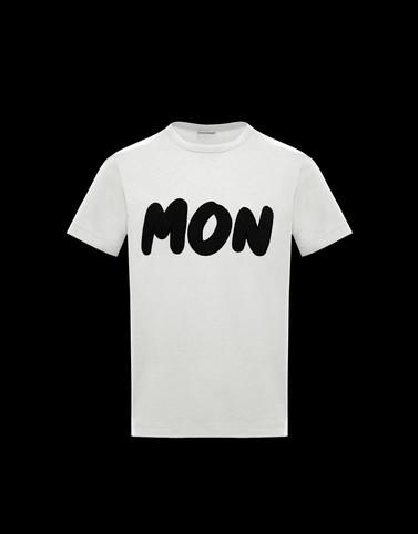 Tシャツ アイボリー Polos & T-Shirts メンズ