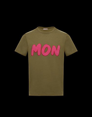 T-SHIRT Military green Polos & T-Shirts Man