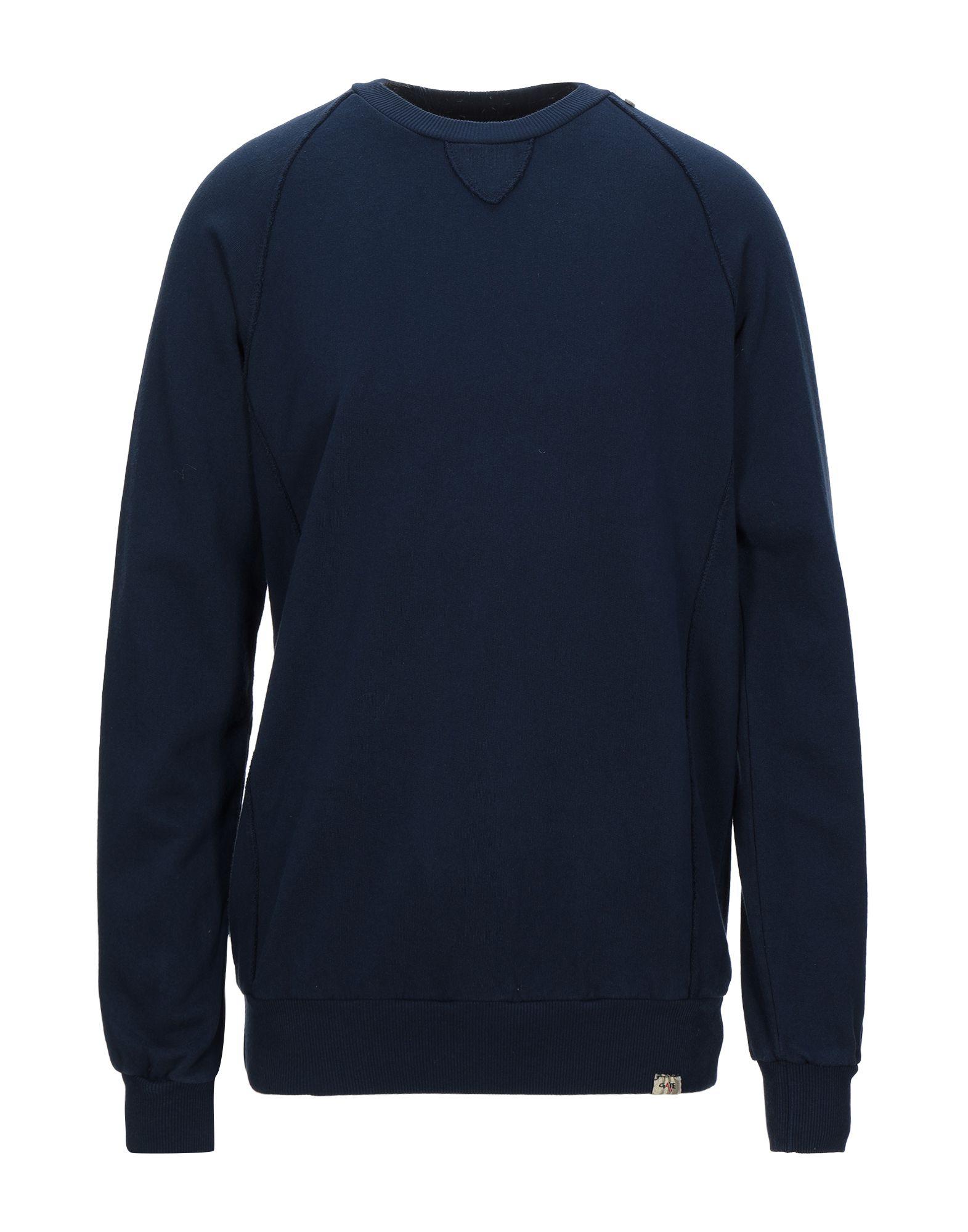 《セール開催中》GATE A3 メンズ スウェットシャツ ダークブルー L コットン 100%