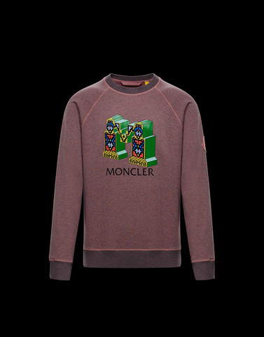 SWEATSHIRT Pink Sweatshirts Man