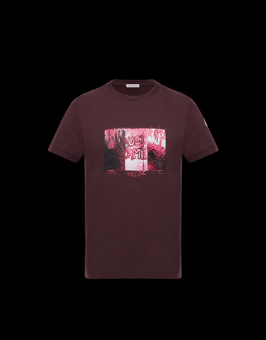 T-SHIRT Bordeaux Category T-shirts Man
