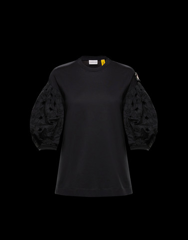 T-SHIRT Black 4 Moncler Simone Rocha Woman
