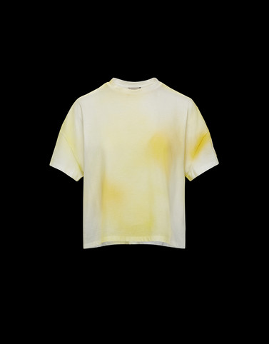 T-SHIRT Yellow T-Shirts & Tops Woman