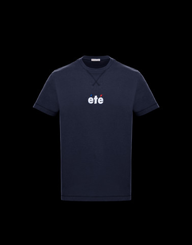Tシャツ ダークブルー Polos & T-Shirts メンズ