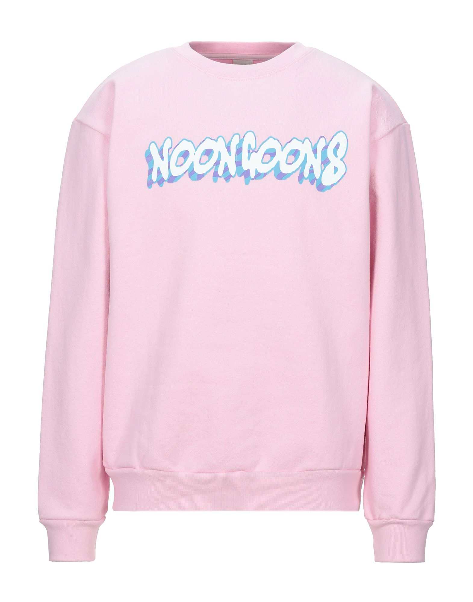 《セール開催中》NOON GOONS メンズ スウェットシャツ ピンク M コットン 100%