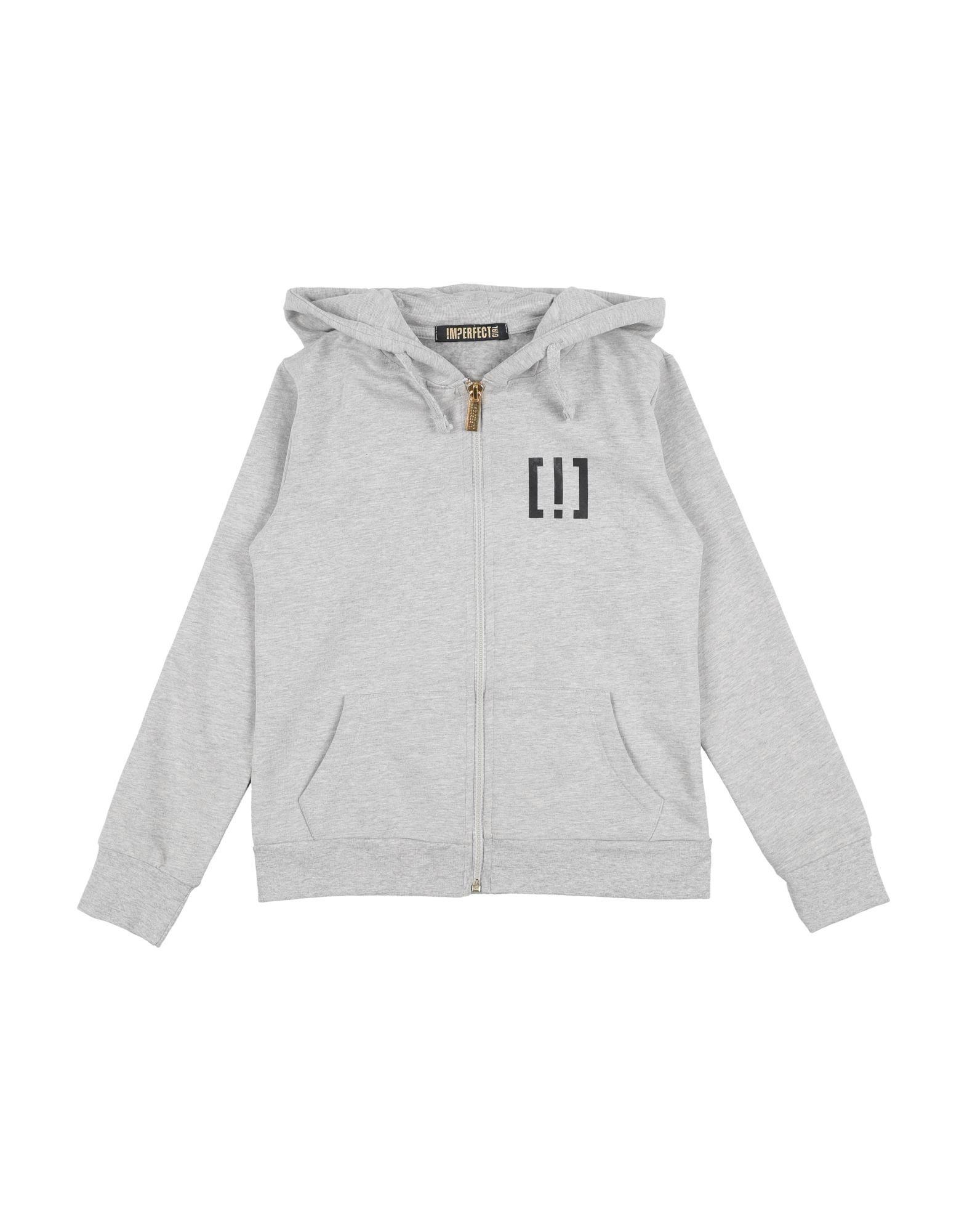 !m?erfect Kids'  Sweatshirts In Light Grey