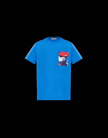 T-SHIRT Bright blue Kids 4-6 Years - Boy Man