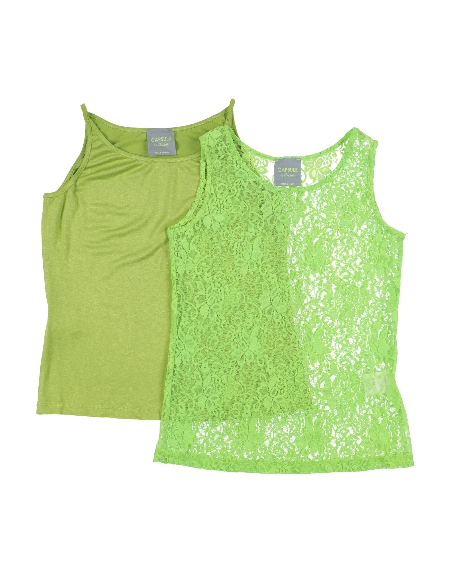 Capsule By Arabeth Kids' T-shirts In Green