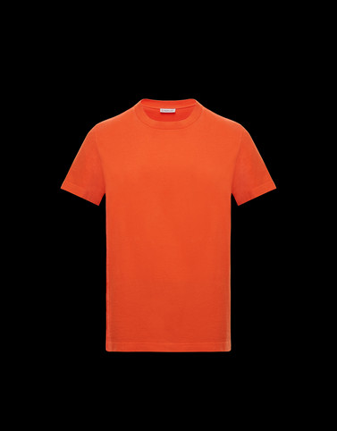 T-SHIRT Orange Polos & T-Shirts Man