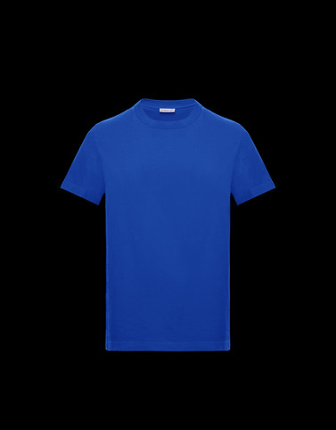 T-SHIRT Blue Category T-shirts Man