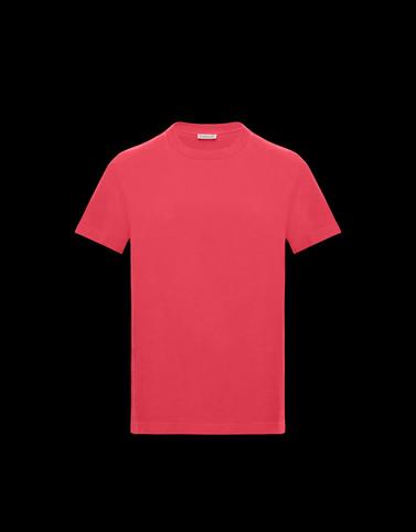 Tシャツ フューシャピンク Polos & T-Shirts メンズ