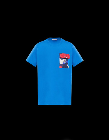 T-SHIRT Blue Junior 8-10 Years - Boy Man