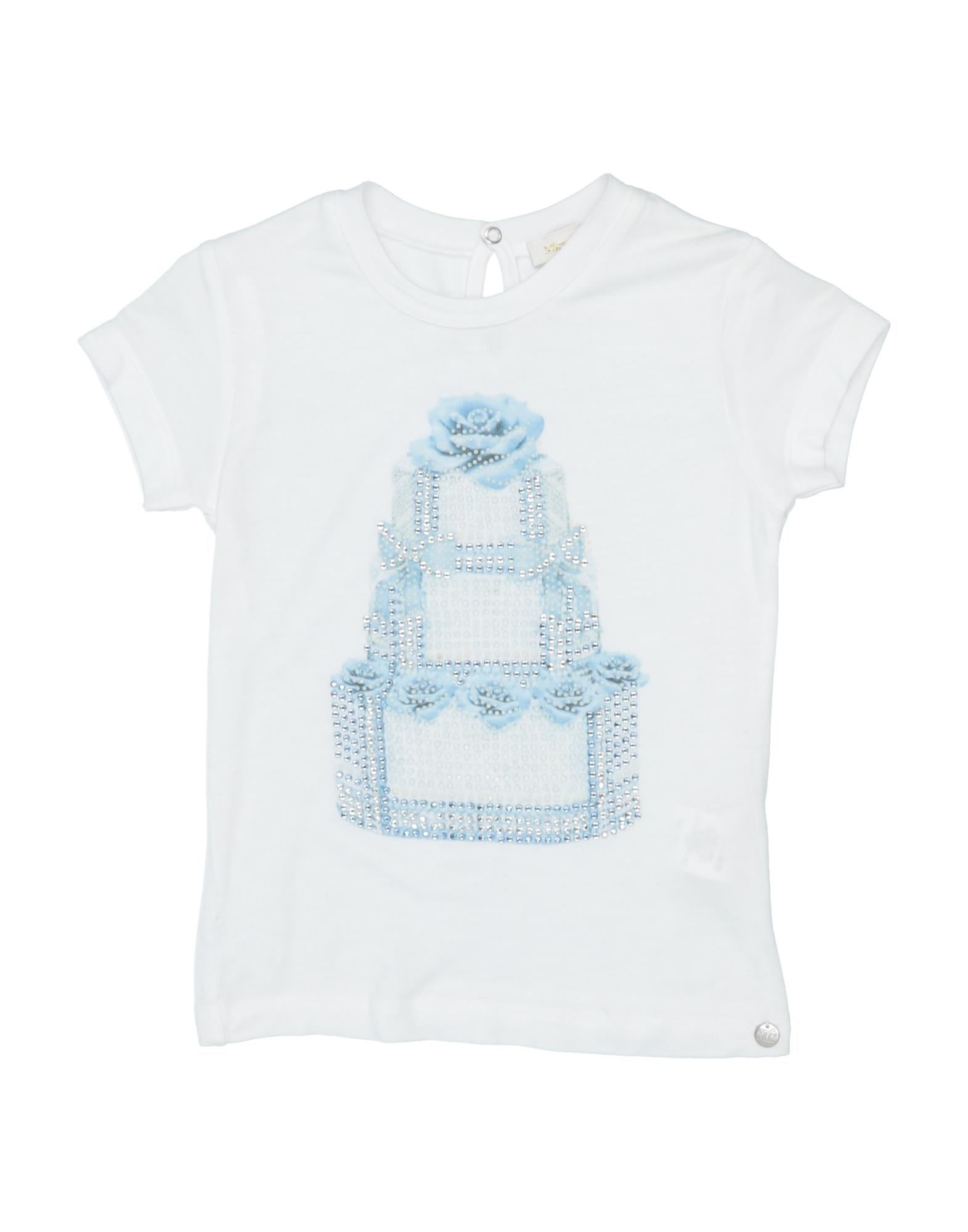 Microbe By Miss Grant Kids' T-shirts In White
