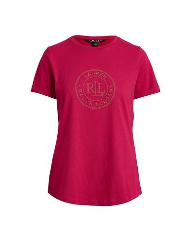 Фото - Женскую футболку LAUREN RALPH LAUREN цвет пурпурный