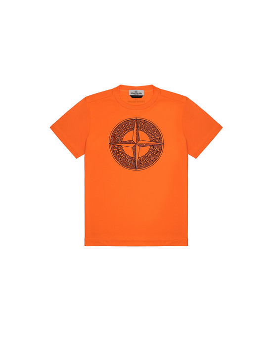 Short sleeve t-shirt Man 21658 Front STONE ISLAND JUNIOR