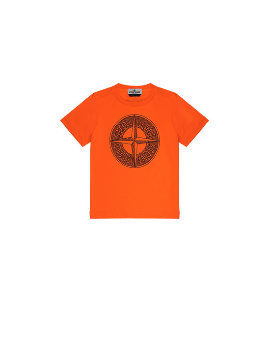 Short sleeve t-shirt Man 21658 Front STONE ISLAND KIDS