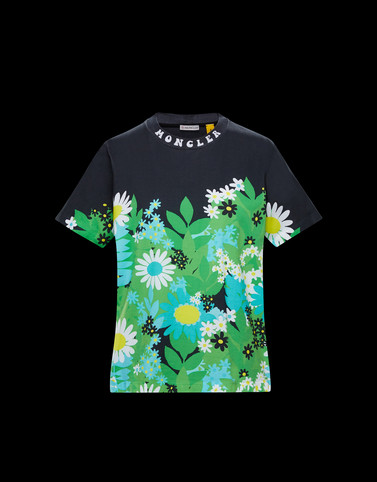 T-SHIRT Green 8 Moncler Richard Quinn Woman
