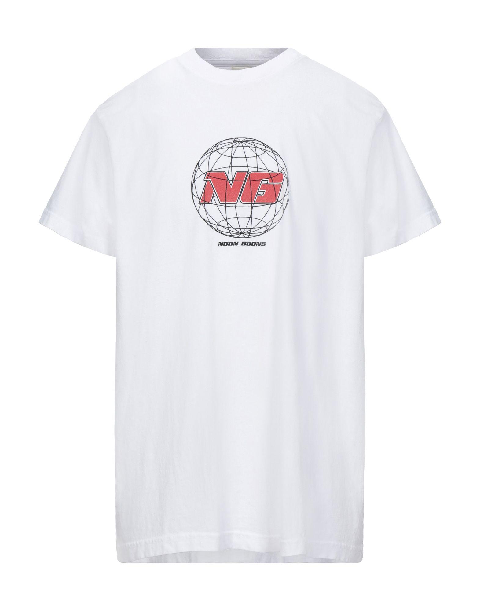 《セール開催中》NOON GOONS メンズ T シャツ ホワイト XL コットン 100%