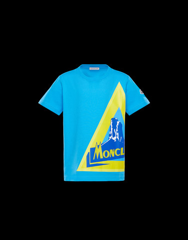 T-SHIRT Azure Junior 8-10 Years - Boy Man