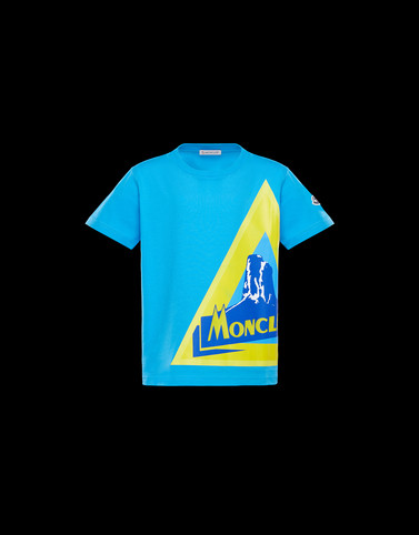 T-SHIRT Azure Kids 4-6 Years - Boy Man