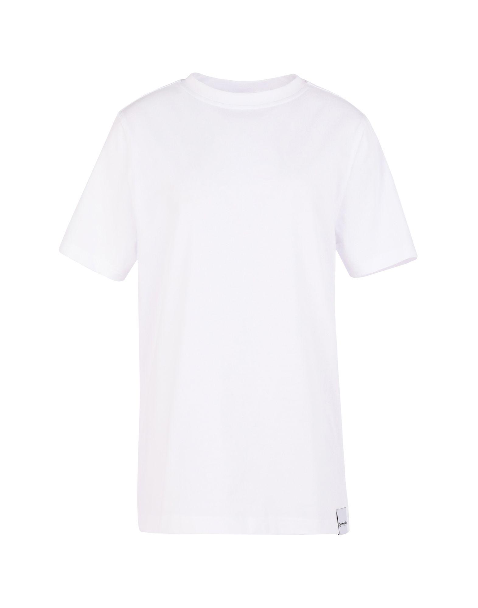 《セール開催中》REEBOK x VICTORIA BECKHAM レディース T シャツ ホワイト 32 コットン 100% RBK VB LOGO TEE