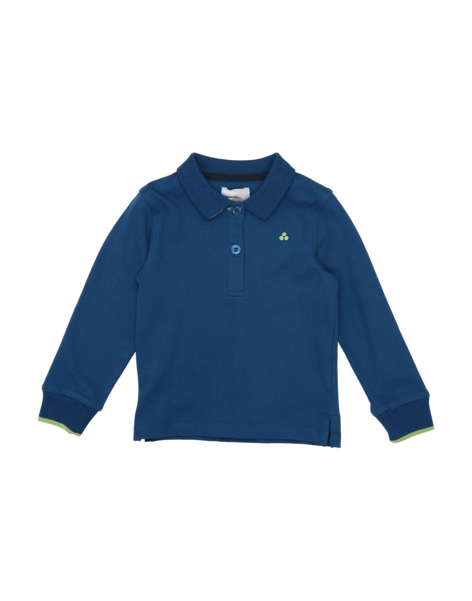 《セール開催中》PEUTEREY ガールズ 0-24 ヶ月 ポロシャツ ブルー 9 コットン 95% / ポリウレタン 5%