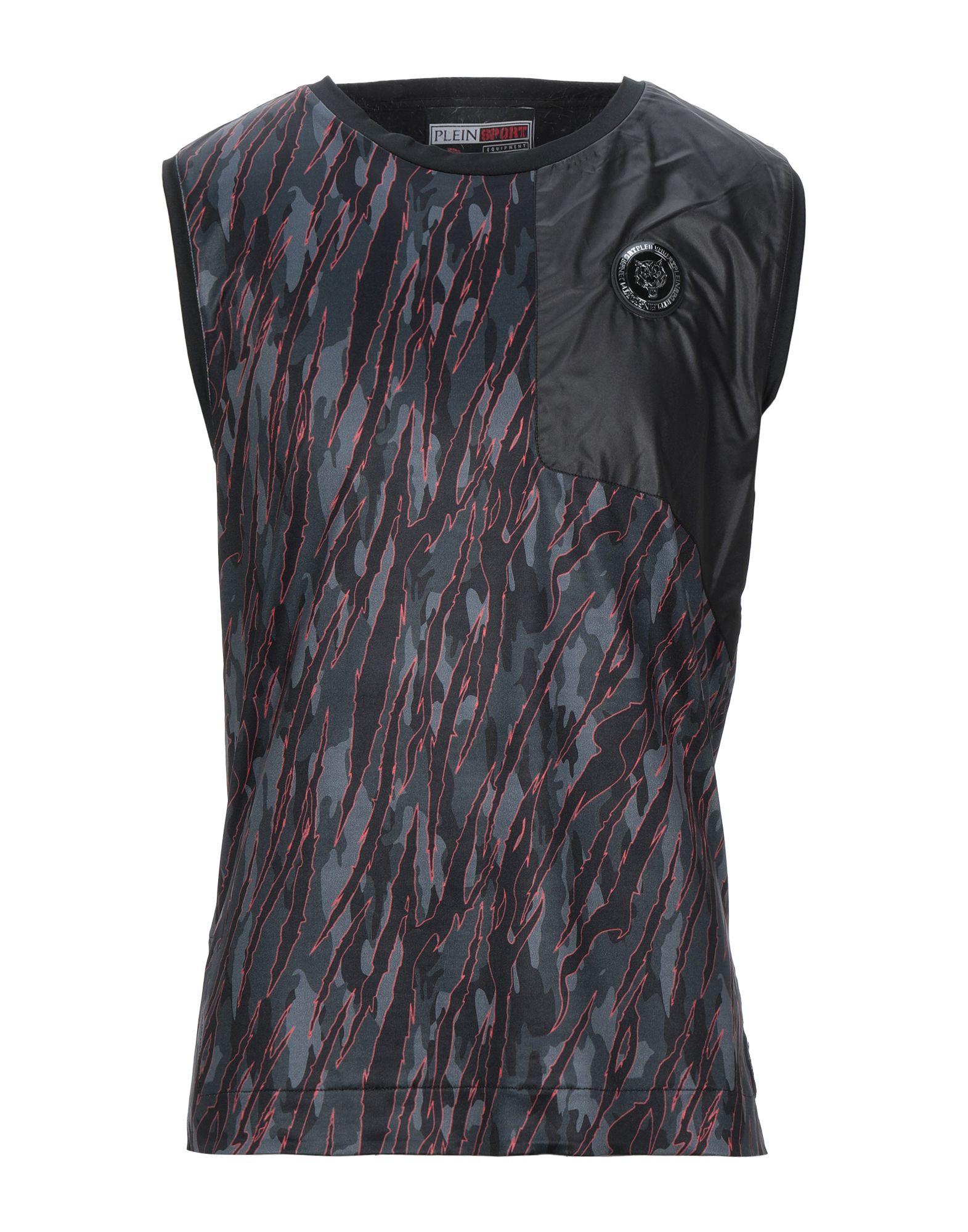 PLEIN SPORT プレイン・スポーツ メンズ T シャツ ブラック