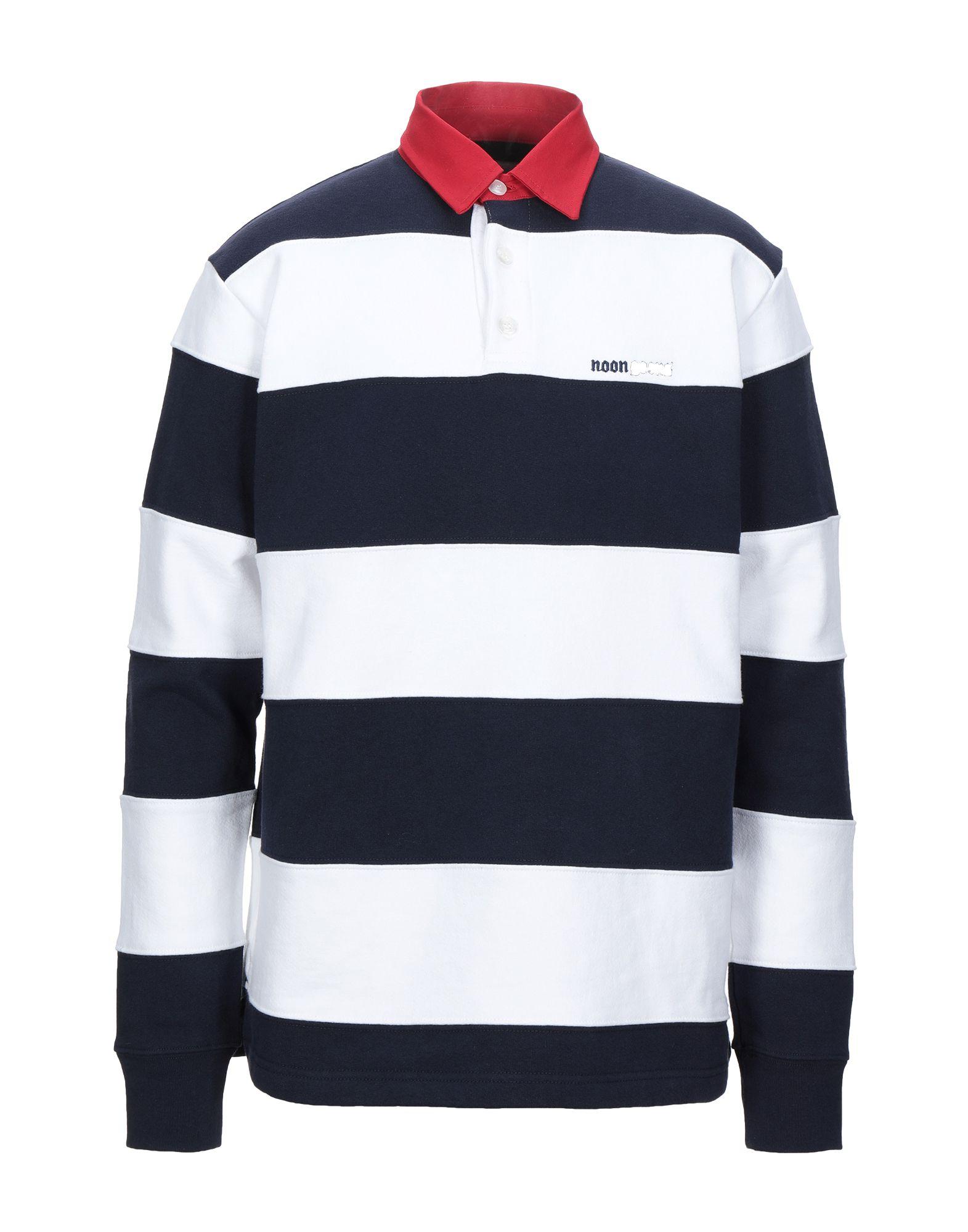 《セール開催中》NOON GOONS メンズ スウェットシャツ ダークブルー M コットン 100%
