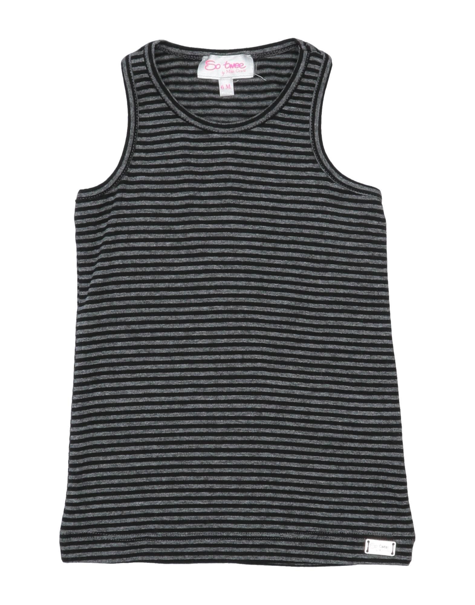 So Twee By Miss Grant Kids' T-shirts In Black