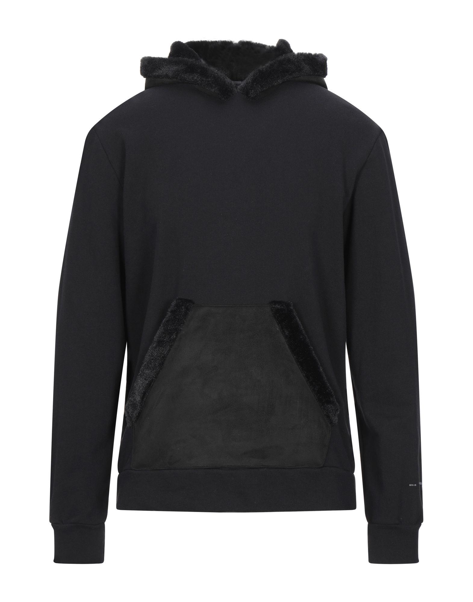 《セール開催中》GREY DANIELE ALESSANDRINI メンズ スウェットシャツ ブラック S コットン 100% / ポリエステル