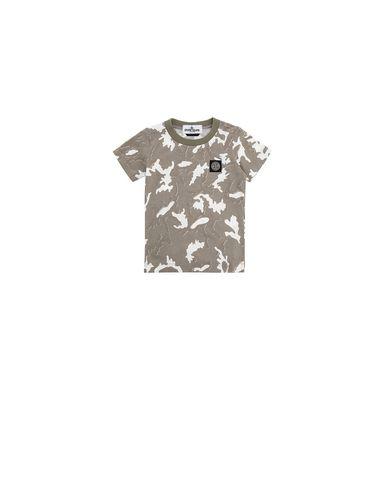 STONE ISLAND BABY 21650 CAMOUFLAGE Short sleeve t-shirt Man Beige EUR 53